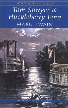 tom sawyer and huckleberry finn | ... great 8th grade book choices for boys: Tom Sawyer and Huckleberry Finn