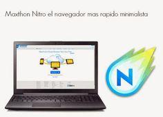 Maxthon Nitro el navegador mas rapido