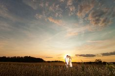 romantic fall engagement on an ohio farm | ben & les photography