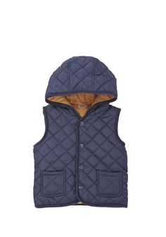 Layer up with a quilted gilet, perfect for unexpected weather! Tesco £8