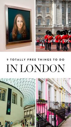 9 Totally Free Things to Do in London via @PureWow