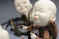 As bizarras e surreais esculturas de Johnson Tsang