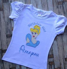 Cinderella Birthday Princess by LillysBowtique on Etsy, $22.00