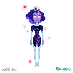 "My character design of ""Supernova"" from ""Vindicators The Return of Worldender""…I'm super proud of how the Vindicator team. Jessica Rick And Morty, Rick And Morty Costume, My Character, Character Design, The Vindicator, Rick And Morty Poster, Geek Culture, Disney Cartoons, Design Reference"