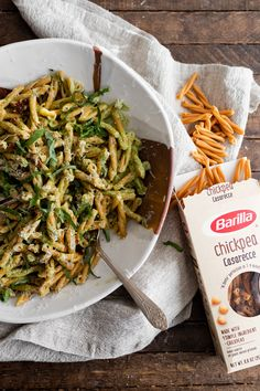 Broccoli Pesto Pasta with Chickpea Casarecce Pesto Pasta, Broccoli Pesto, Healthy Pasta Recipes, Healthy Pastas, Vegetarian Recipes, Food Combining, Pesto Recipe, Pasta Dishes, Ethnic Recipes