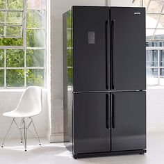 side by side refrigerator with wine cooler John Lewis