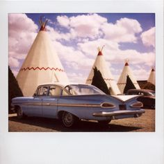 Wigwam Motel in Holbrook, AZ. One of the great vintage motels to be featured in the doc film The Motels of Route 66