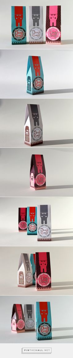 Dandy Candy Packaging on Behance by CultCat curated by Packaging Diva PD. Start the morning off with a sweet packaging smile : )