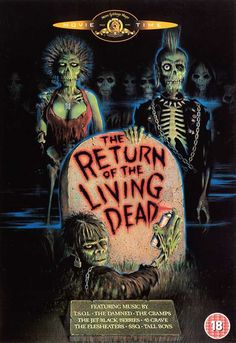 The Return of the Living Dead (Dutch) 11x17 Movie Poster (1985)