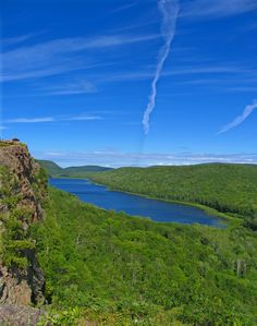 Lake of the Clouds, Porcupine Mountains, Just 10 miles from MVL!