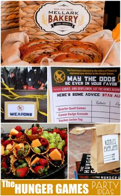 Planning a Hunger Games party? Attending the movies with friends? Catching up on the books? Here are some fun Hunger Games Party ideas. Hunger Games Party, Hunger Games Movies, Party Games, Dinner Themes, Movie Party, Christmas Games, Diy For Kids, Party Planning, Party Ideas