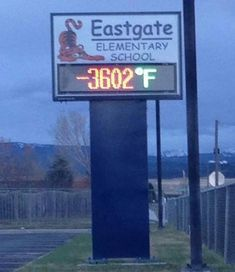 Funny Signs ~ Eastgate Elementary School, Bellevue, WA