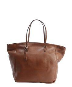 Gucci brown leather 'Bree' classic tote