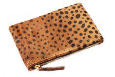 Leopard Wallet Clutch Clare vivier inspired wallet par MimicDesign, $40.00