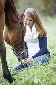 Senior pictures with horses are definitely some of my favorite sessions. Hands down! There's just something about being outside in the crunchy leaves for these sessions that is truly relaxing. B...