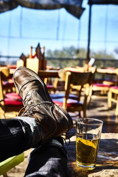 Even when it's quitting time, these well-loved Iron Rangers stay comfortable all week long. Red Wing Boots, Red Wing Heritage Boots, Red Wing Iron Ranger, Sneaker Boots, Combat Boots, Men Boots, Shoe Boots, Men's Shoes, Leather Boots