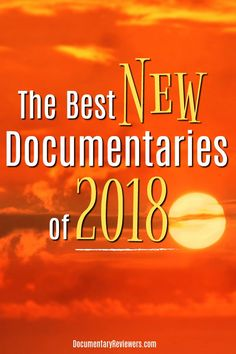 These are definitely the best new documentaries of there's even more to come! Including true crime, inspirational biographies, and of course some cult action, there's something for everyone! Best Documentaries On Netflix, Netflix Movies, Movie Tv, Netflix List, Sci Fi Thriller, Acting Tips, Indie Movies, Great Films, Documentary Film