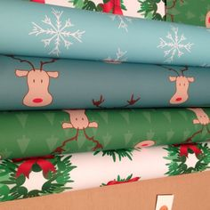 ASL I Love You Christmas Gift Wrap Paper by SayItInASL on Etsy