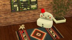 Sims 4 CC's - The Best: SNOWMAN CHAIR by Leo Sims