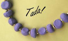blah to TADA!: Clay Jewelry