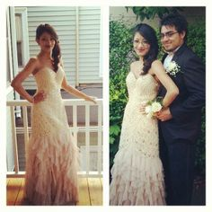 Wendy wearing @Scala USA and looking stunning!  Dress from Dresses By Russo. #dressesbyrusso #promdress #prom2014