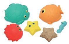 Melissa & Doug Seaside Sidekicks Sand Molding Set: Amazon.co.uk: Toys & Games