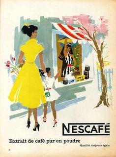 Nescafé 1955 -Donald Brun