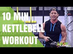 10 Minute Calorie Incinerator HIIT Kettlebell Workout - Live Lean TV