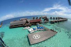 Water Village Dive Resort, Sipadan, Sabah, Borneo
