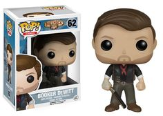 Booker DeWitt from the popular Bio Shock Infinite! The private investigator comes to you in Pop! Vinyl format wearing his classic outfit and armed with his shotgun. The Bio Shock Infinite Booker DeWitt Pop! Vinyl Figure measures approximately 3 3/4-Inch tall and comes packaged in a window display box. #funko #collectible #popvinyl #actionfigure #toy #BookerDeWitt