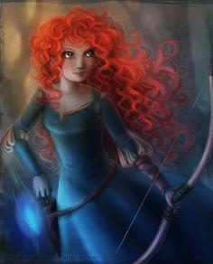 princess Merida..Brave
