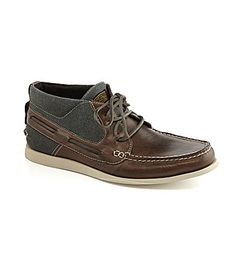 a622d0e5340ae Kenneth Cole Reaction Mens Drift Racing HighTop Boat Shoes  Dillards