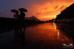 Lluvia en Donostia San Sebastian