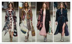 Burberry Fall 2014 via NorthOnHarper.com