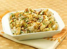 oven roasted cauliflower with crunchy topping recipe top roasted ...