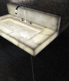 Exclusive furniture alabaster #basin