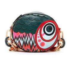 MISSONI~Fun Modern Fish Design~Shoulder Purse Handbag~MSRP $395~NEW!!! #Missoni #ShoulderBag