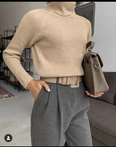 3 Basic Pieces Make the Perfect Chic Outfit - - . - Street Style Outfits, 3 Basic Pieces Make the Perfect Chic Outfit - - . Daily Fashion, Look Fashion, Winter Fashion, Womens Fashion, Street Fashion, Fashion Clothes, Fashion Dresses, Girl Fashion, Fashion 2020