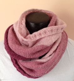SOLD Rose Pink Infinity Scarf by ALuckyLadybug on Etsy, $30.00