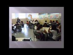 Sala de Leitura - Diretoria de Ensino de Guaratinguetá - Município de Cruzeiro - Escola Hermogenes Major.