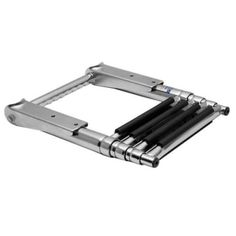 Amarine-made 4 Step Telescoping Swim Marine Boat Ladder Stainless with Built in…