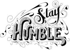 Stay Humble Logo