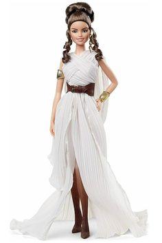 Star Wars Rey X Barbie Doll Figure. Rey Gift Ideas. Star Wars Gift Ideas For Barbie Doll Lovers. Birthday Xmas Gift Ideas For Women Girls. Star Wars Gift Ideas. Star Wars Lover Gifts. #StarWarsLoverGifts #ReyDollStarWars #StarWarsGiftIdeas