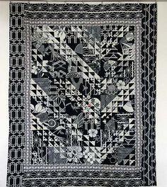 _marie_00037 Quilt en tissus de kimono d'été Yukata