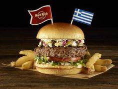 Διαγωνισμός jazzbluesrock.gr με δώρο ένα γεύμα για 2 στα «Legendary Burgers» για το World Burger Tour στο HARD ROCK CAFE ATHENS Hamburger, Chicken, Ethnic Recipes, Rock, Locks, Rock Music, Hamburgers, Burgers, Loose Meat Sandwiches