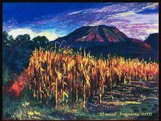 los volcanes atl pintores mexicanos