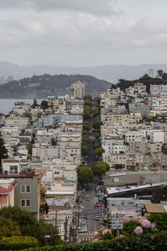 Just one of San Francisco's steep hills