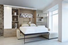 Sofa Lit escamotable | Murphy Bed over sofa