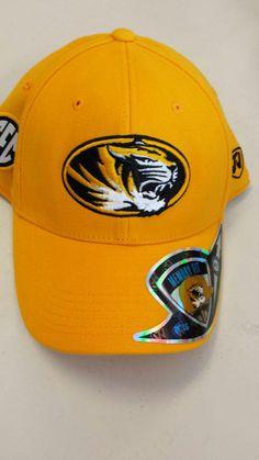 classic fit 9db94 77c01 Missouri Tigers Stretch Fit Memory Foam Hat by Top of the World www. shopmosports.