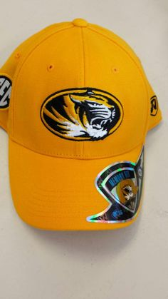 Missouri Tigers Stretch Fit Memory Foam Hat by Top of the World www.shopmosports.com